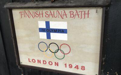 LONDON OLYMPIC SAUNA